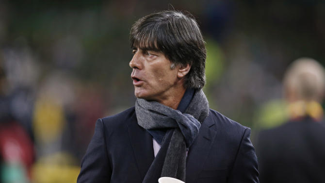 Germany coach Joachim Low before the match
