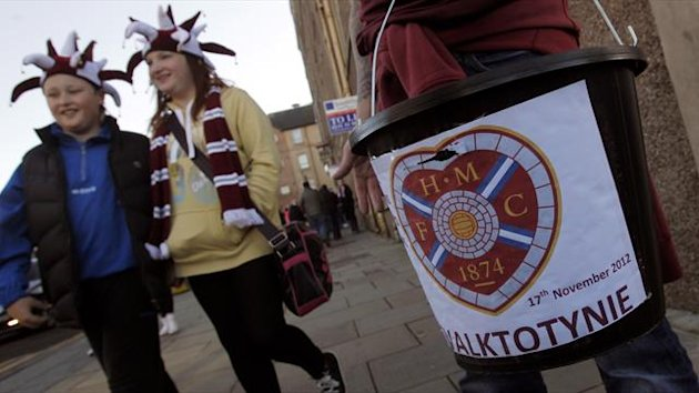 Hearts fans have been doing their best to try and raise funds for the club