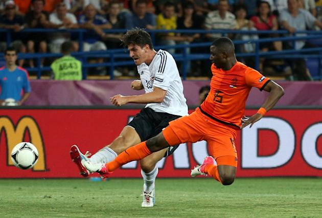 Mario Gomez Of Germany Scores Getty Images