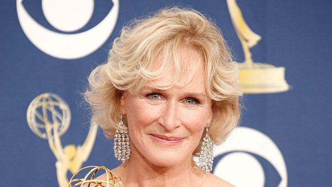 Glenn Close poses in the press room at the 61st Primetime Emmy Awards held at the Nokia Theatre on September 20, 2009 in Los Angeles, California.