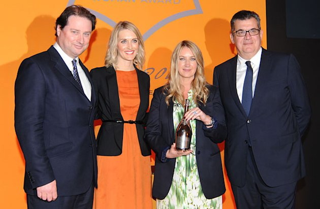 Anya Hindmarch Wins The Veuve Clicquot Business Woman Award 2012!
