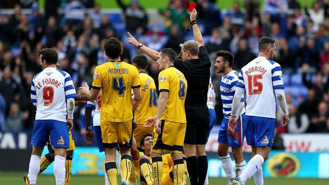 Championship - No arguments over Ulloa red
