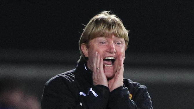 Manager Stuart McCall is dismissive of Motherwell's title chances