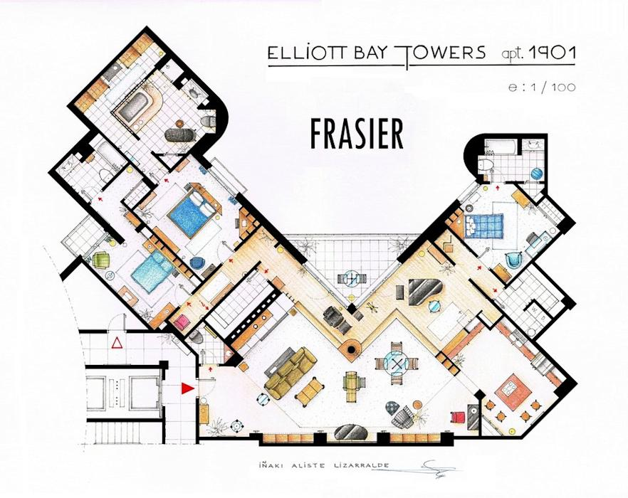 Best The Sopranos House Floor Plan Pictures - Flooring & Area Rugs ...