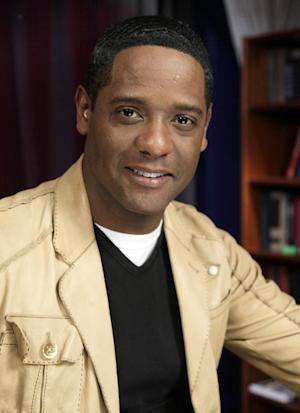 """FILE - This March 7, 2011 file photo shows actor Blair Underwood is interviewed in New York. NBC is announcing a new comedy for fall from """"Scrubs"""" creator Bill Lawrence and an updating of the '70s cop drama """"Ironside."""" (AP Photo/Richard Drew, file)"""