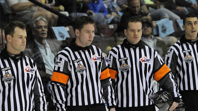 Junior hockey referees