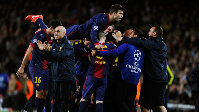 Barcelona v Paris St Germain - UEFA Champions League Quarter Final