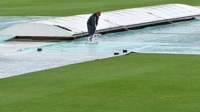 Rain has prevented any morning play in the LV= County Championship
