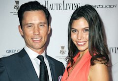 Jeffrey Donovan and Michelle Woods | Photo Credits: Gustavo Caballero/Getty Images