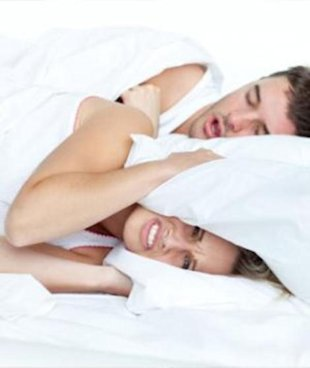 Snoring can cause sleep apnea.