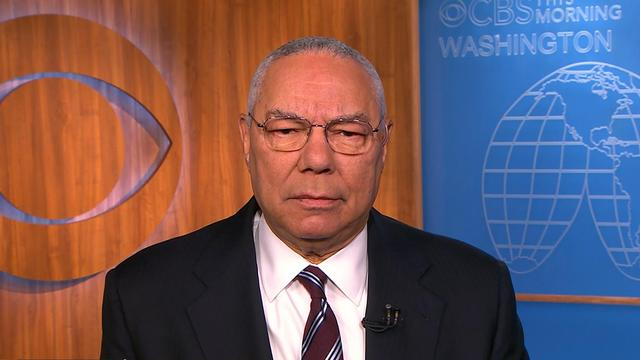 "Colin Powell: Cuba ""still a terrible regime,"" but nothing wrong with opening diplomatic relations"