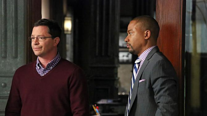 """Scandal"" -- ""Molly, You in Danger, Girl"" JOSHUA MALINA, COLUMBUS SHORT"