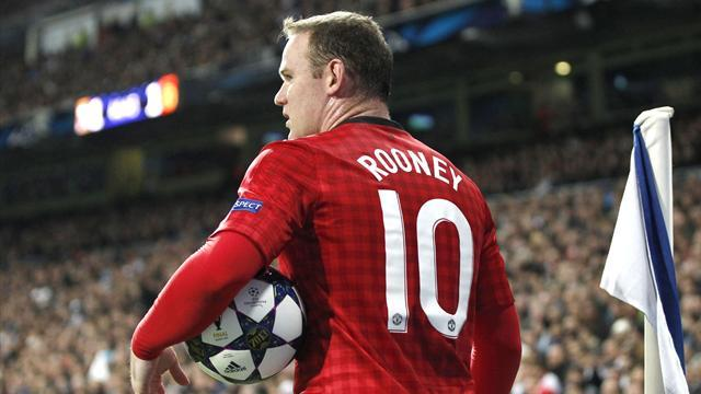 Premier League - 'Injured' Rooney pulls out of friendly after United reject Chelsea bid