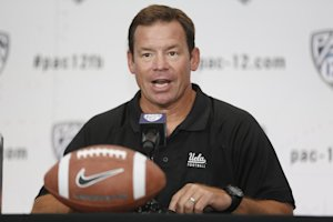 Coach Jim Mora has turned UCLA into a physical presence. (AP)