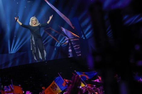 Bonnie Tyler at the 2013 Eurovision Song Contest in Sweden