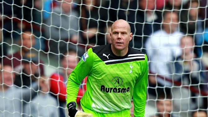 Brad Friedel is determined to stay number one at Spurs