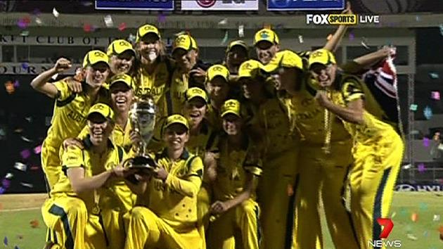 Southern Stars win World Cup