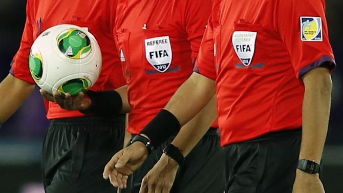 European Football - UEFA fined over Croatian referee match-fixing accusation