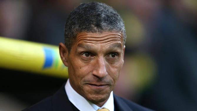 Chris Hughton's Norwich city now have eight points from their last four games