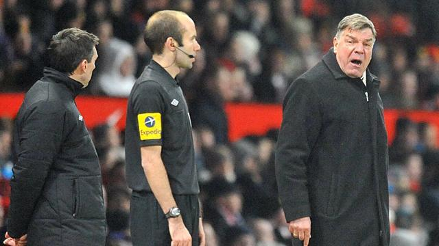 FA Cup - Allardyce fined after Old Trafford referee comments