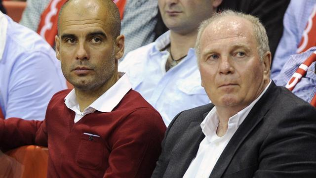 Bundesliga - Guardiola: I'll stay at Bayern until Hoeness is released