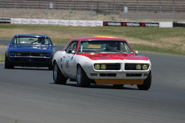 titus firebird SCCA racing photo