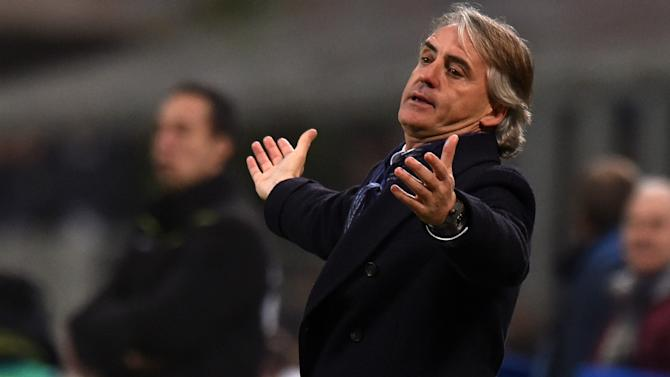 Furious Mancini slams Inter's 'worst ever' first half against Lazio