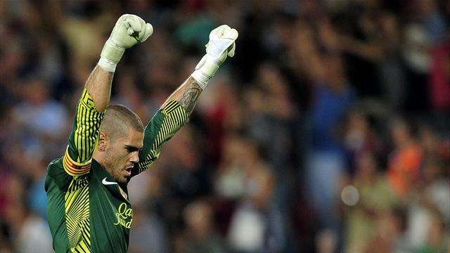 Liga - Valdes will not re-sign at Barcelona after 2014