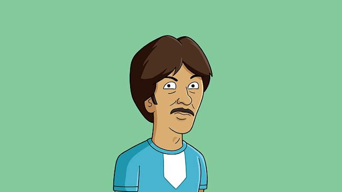 "Uncle Rico (voiced by Jon Gries) stars in ""Napoleon Dynamite."""