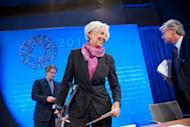 "IMF chief Christine Lagarde, pictured here, on Saturday praised Myanmar's overhaul of its complex exchange-rate system, the new government's most radical economic reform yet in a bid to lure investors. The International Monetary Fund has been working ""discreetly"" with the Myanmar monetary authorities, particularly on the recent currency reform, Lagarde said at a news conference"