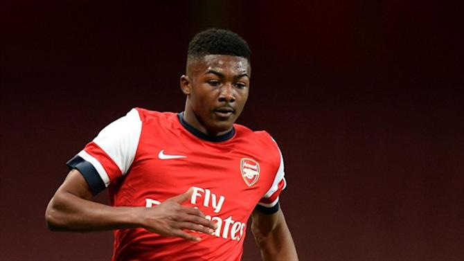 Football - Town land Arsenal youngster