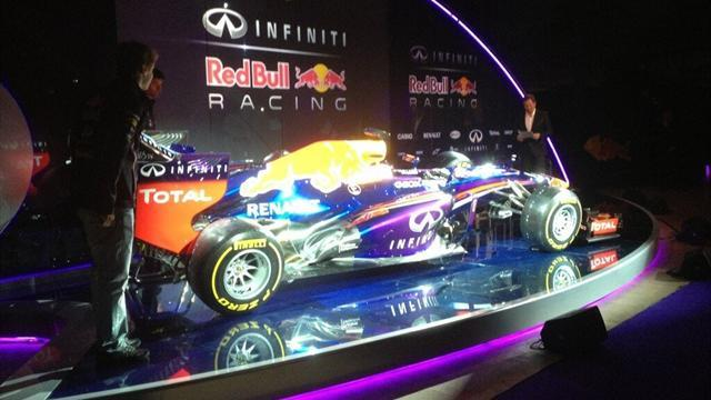 Formula 1 - Red Bull launches the RB9 for 2013