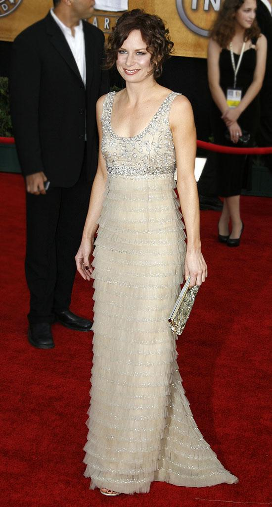 Mary Lynn Rajskub at the 13th Annual Screen Actors Guild Awards.