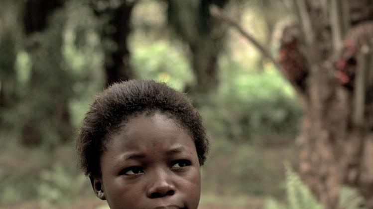 "This image released by Item 7 shows Rachel Mwanza in a scene from ""War Witch.""  (AP Photo/Item 7)"