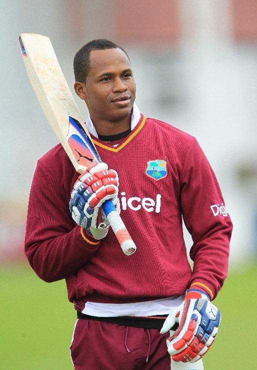 Marlon Samuels is leading the West Indies' response to Bangladesh's first innings 387