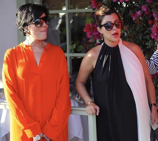 Kourtney Kardashian Needs to Forgive Kris Jenner For Her Cheating