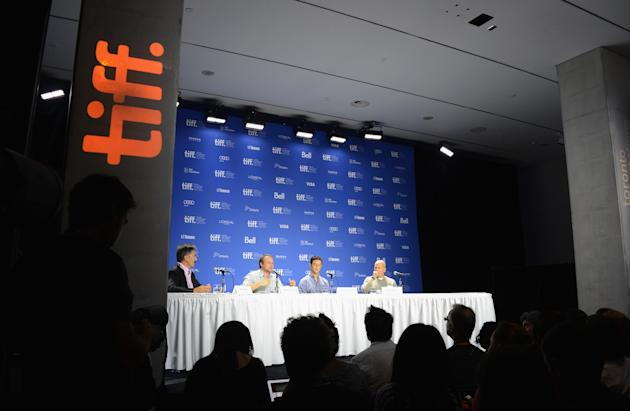 """Looper"" Press Conference - 2012 Toronto International Film Festival"