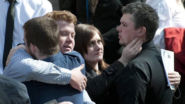 Mourners remember Calgary stabbing victim Josh Hunter