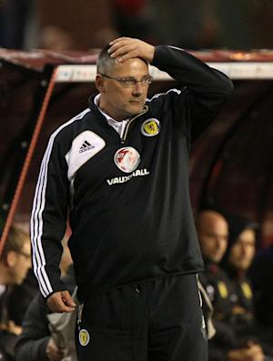 Craig Levein is waiting to hear whether he will carry on as manager of Scotland