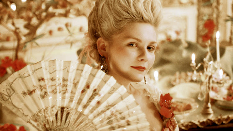 "FILE - In this publicity photo provided by Sony Pictures, Kirsten Dunst stars in the title role of  ""Marie Antoinette.""  (AP  Photo/Sony Pictures/Leigh Johnson, File)"