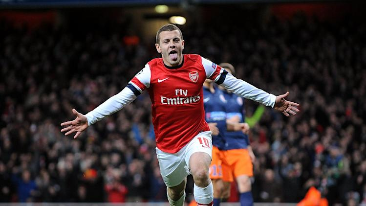 Arsene Wenger is pleased with the way Jack Wilshere, pictured, is progressing