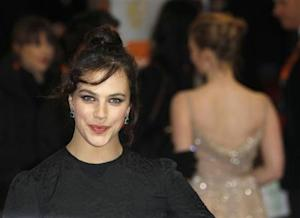 Actress Jessica Brown Findlay arrives for the British Academy of Film and Television Arts (BAFTA) award ceremony at the Royal Opera House in London
