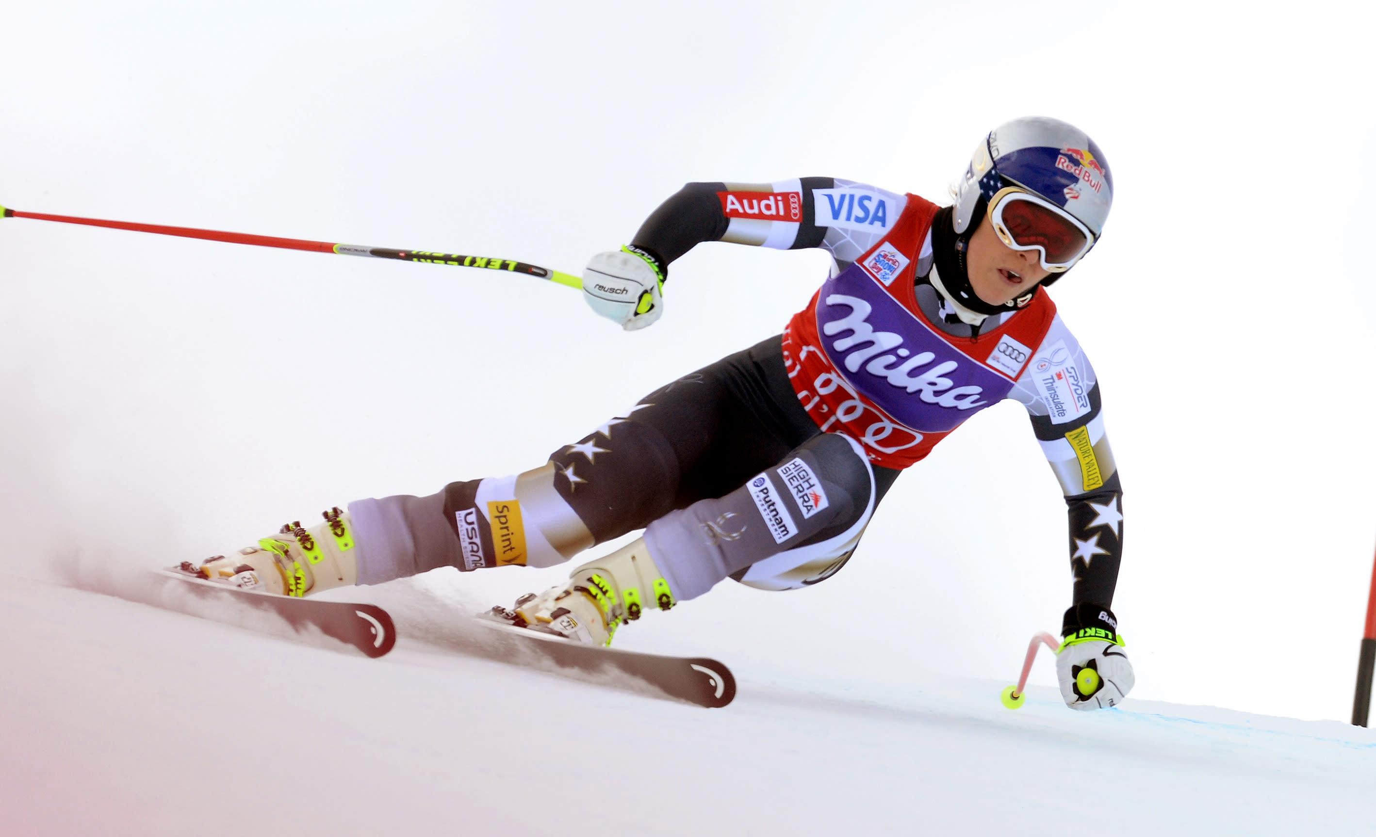 Vonn wins women's World Cup downhill in France