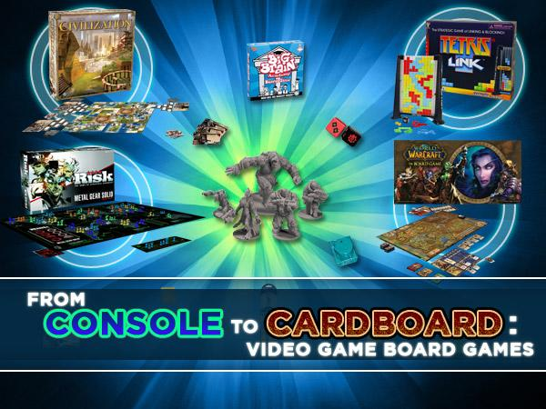 10 video games turned board games