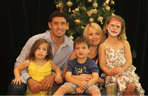 Australian Cricket Team Celebrate Christmas