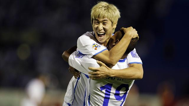World Football - Ulsan on verge of first AFC Champions League final