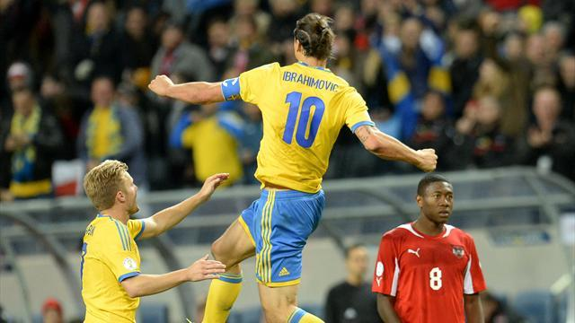 World Cup - Ibrahimovic strikes late to earn Sweden victory