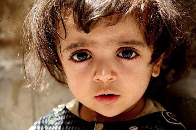 Em bé được mệnh danh đẹp nhất thế giới