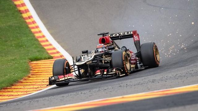 Formula 1 - Raikkonen exit puts Lotus top of vacancy list