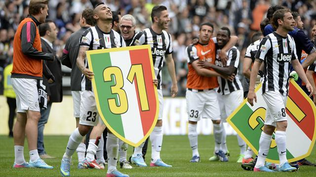 Football - Juventus open old wounds with title win